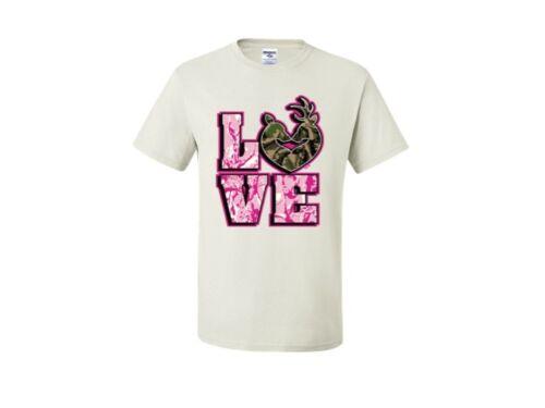 LOVE BUCK DOE CUTE COUPLES T-Shirt JERZEES THE BEST SIZE SM To 5XL
