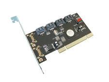 Carte Controleur PCI SATA 2  // 4 PORTS // RAID 0,  1, 5