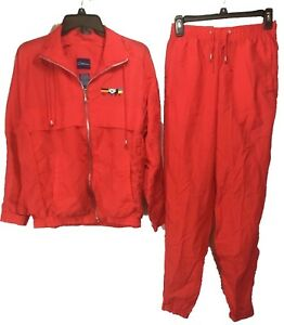 1ce7ae0d Image is loading Vintage-Catalina-Track-Suit-Windbreaker-Nylon-Jacket-Pants-