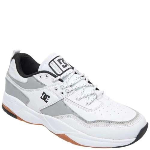 White//Silver ADYS700146-WS4 DC Shoes Men/'s E-Tribeka SE Skate Shoes