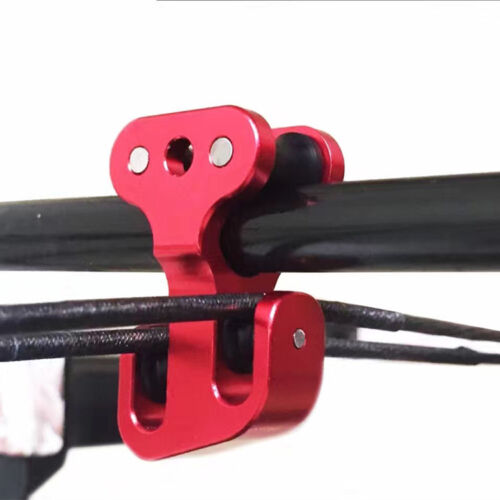"""205grain 3//8/"""" Cable Bar Pulley Cable Slide Aluminum Hunting Archery Compound Bow"""