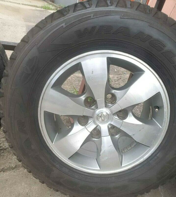 "16"" Toyota Hilux/Fortuner original mag with used tyre to use for spare wheel R1500."