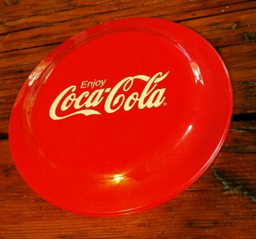 "VIntage ENJOY COCA-COLA Flying Frisbee Disc 9/"" /""Made in the USA/"" Humphrey Flyer"