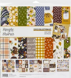 """Simple Stories Collection Kit 12""""X12""""-Cozy Days"""
