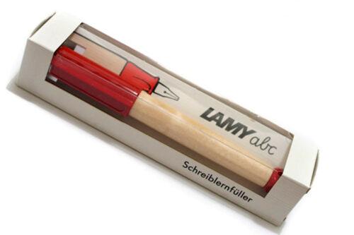 Estilografica Pluma Lamy ABC Red Rojo para Niños Principiantes Plumin A 7151rojo