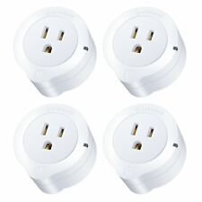 Etekcity 4 Pack Voltson Wi-fi Smart Plug Mini Outlet With Energy Monitoring 4pcs