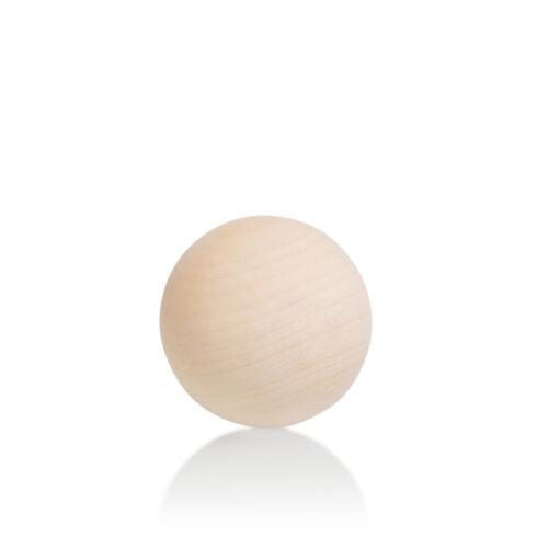 Natural Wooden Craft Wood Balls Sphere 10mm to 75mm Diameter Craft Supplies