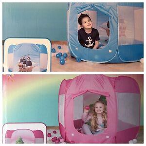 Spielzelt mit  250 Bällen  Kinderzelt  Zelt Ballzelt Bällebad   Con