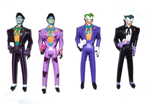 DC JLU Justice League Unlimited The Joker Purple Black Loose Action Figure Set