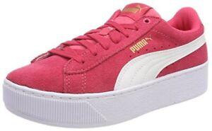Details about Puma Vikky Platform Jr Children Ladies Sneaker Shoes 366485 Paradies Pink Sale