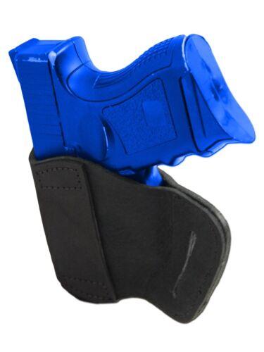 New Barsony Black Leather Yaqui Gun Holster for Bersa Compact Sub Comp 9mm 40 45