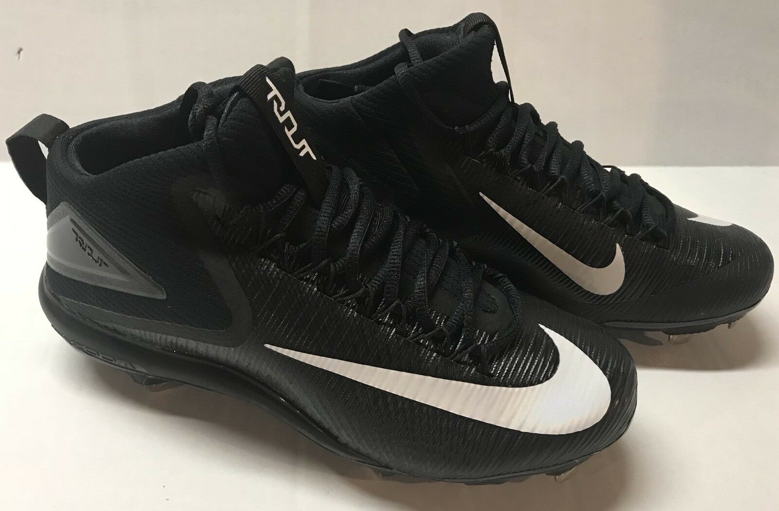 NEW  NIKE Mens Sz 9 Force Zoom Mike Trout 3 Metal Baseball Cleats 856503-011