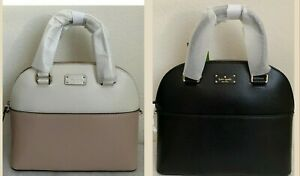 NWT-Kate-Spade-Grove-Street-Carli-Leather-Satchel-Bag-WKRU4192-Original-Packagin