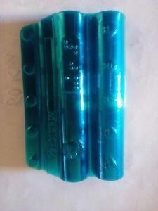 15-Blister-pour-Pieces-de-Monnaie-0-10-Centime-Emballage-Devise-Couleur-Bleu