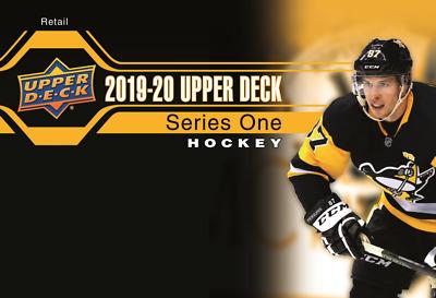 2019 2020 Upper Deck SERIES 1 Hockey NHL Sealed RETAIL 1 BOX + FREE NHL EARBUDS