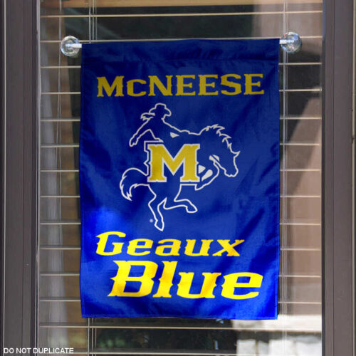 McNeese State Cowboys Garden Flag and Yard Banner