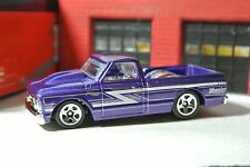 Hot Wheels '67 Chevy C-10 Pickup Truck - Purple - Loose - 1:64 - Hoosier