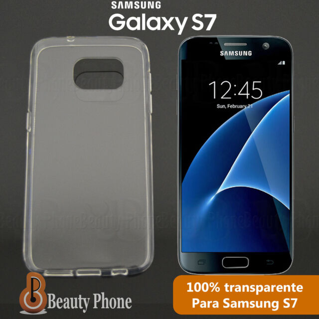 FUNDA CARCASA 100% GEL SILICONA CLEAR TRANSPARENTE PARA SAMSUNG GALAXY S7 new