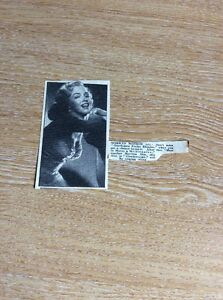 T1-6-Ephemera-Advert-1953-Picture-Actress-Marilyn-Monroe-Prefer-Blondes