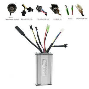 Electric bike 36v 250w 350w 500W Brushless Gear 6 mosfet waterproof controller