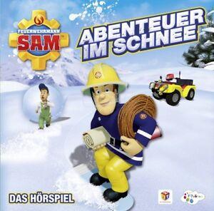 FEUERWEHRMANN-SAM-ABENTEUER-IM-SCHNEE-DAS-HORSPIEL-CD-NEU