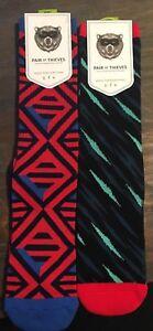 2-Pack-of-Mens-Pair-of-Thieves-Sport-Socks-Size-8-12