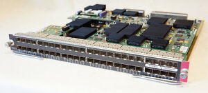 CISCO-WS-X6748-GE-SFP-48-PORT-GIGABIT-NETWORK-MODULE-W-WS-F6700-DFC3C-PLUG-IN