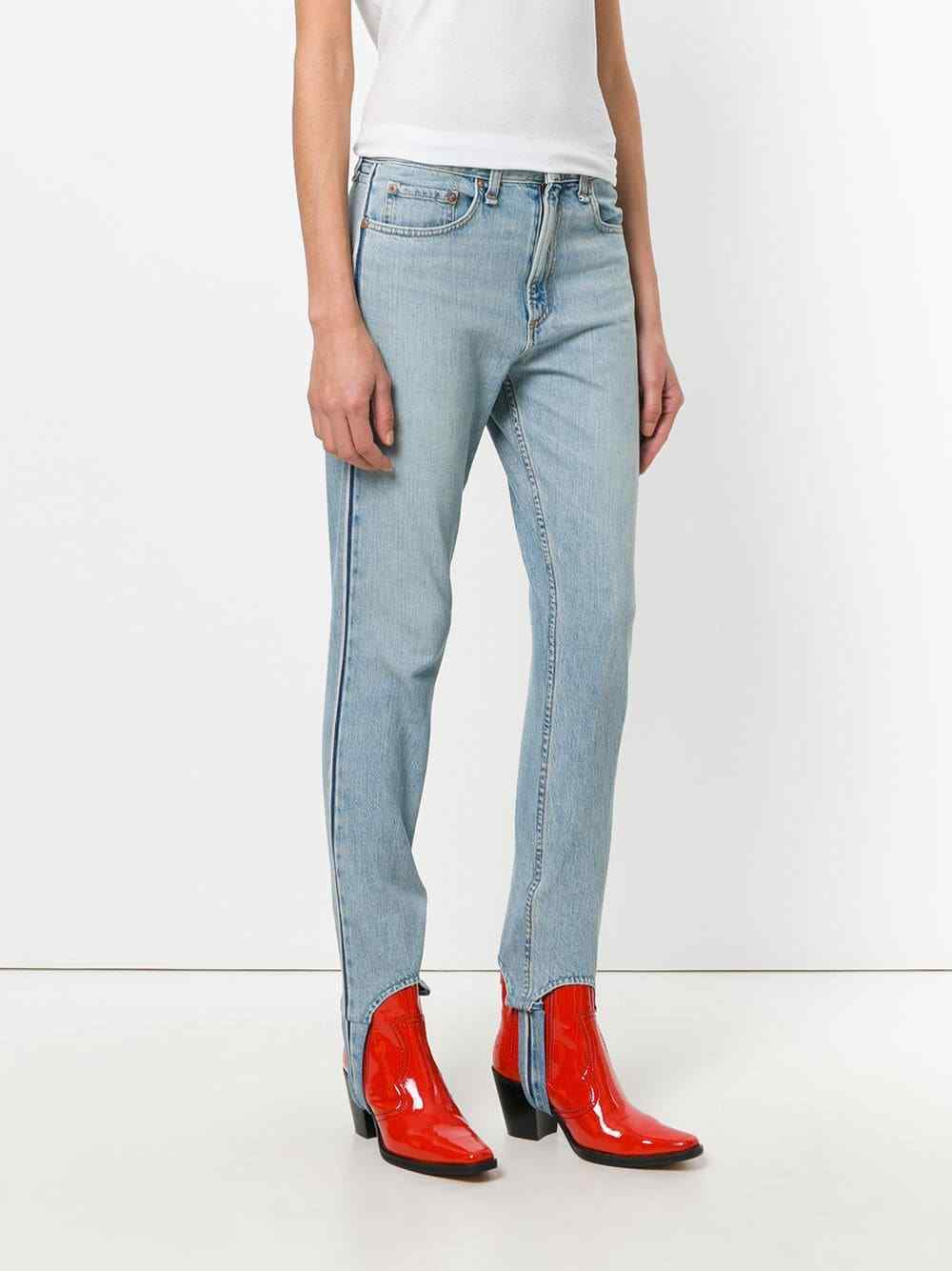 Rag & bone Olivia Stirrup Size 24 Women's Denim Jeans Pinebox Wash
