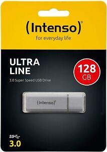 Intenso Ultra Line 16/32/64/128 GB USB Stick 3.0 USB silber Flash Drive Stick