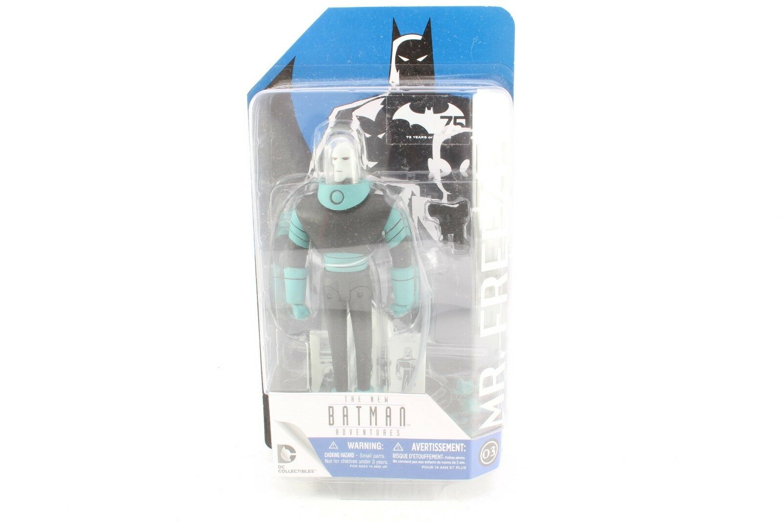 DC Batman The Animated Series Mr Freeze Sealed New Action Figure