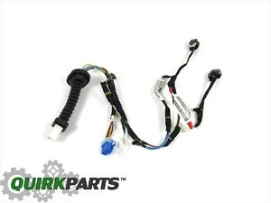 dodge ram wiring harness from cab back dodge ram wiring harness recall 02-03 ram 1500 2500 3500 quad cab rear l/h power door lock ...