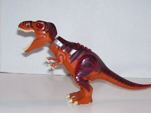 Image is loading LEGO-5886-DINO-T-REX-TYRANNOSAURUS-Figure-Only-
