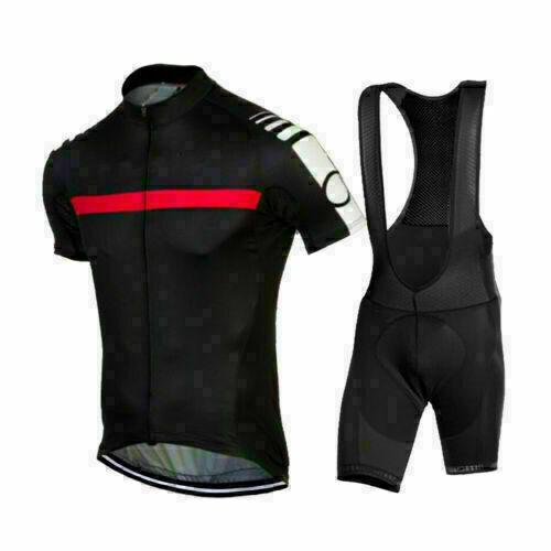 2020 Mens Team Cycling Jersey And Bib Shorts Kits Bicycle Tops Short Sleeve