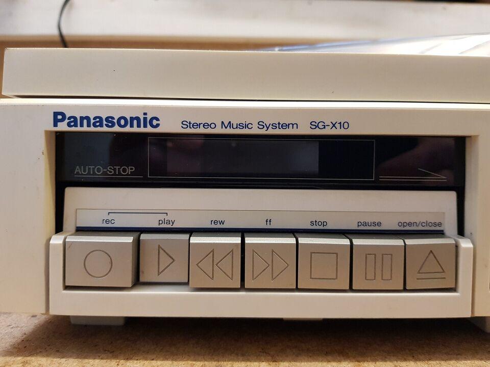 Stereoanlæg , Panasonic, SG-X10
