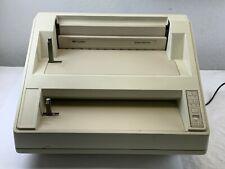 Gbc Velobind System Three Pro Binding Machine Model 9707047