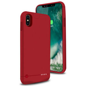 new style 0b0d4 fc810 Details about Ultra-Thin Power Bank Battery Backup Case Charger Cover For  iPhone X 5200mAh