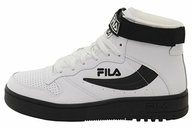 cec74c89beb3 FILA FX 100 Men s Basketball Shoes SNEAKERS Trainers Hi Black White ...