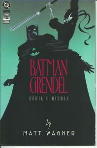 Modeste Batman Grendel 1/2 - Dc / Dark Horse 1993 ( Comics Usa )