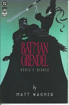 Fuerte Batman Grendel 1/2 - Dc / Dark Horse 1993 ( Comics Usa )