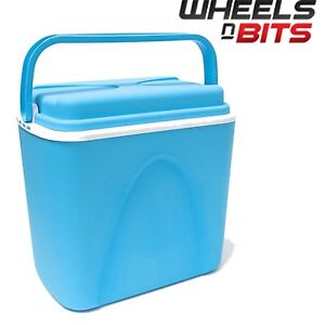 WNB-24-Litre-Insulated-Ice-Cooler-Box-Ideal-For-Camping-Picnic-Beach-Lid-Handle