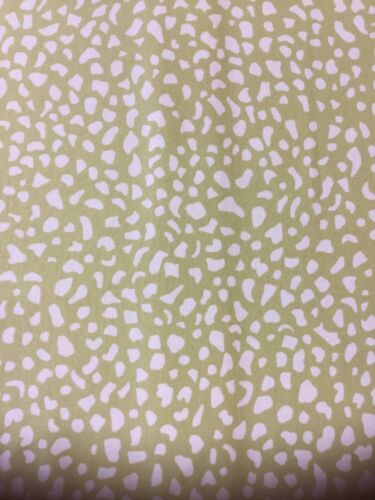 By the Metre seconds Sanderson Ocelli Green Fabric