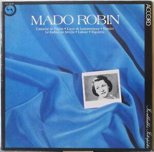 MADO-ROBIN-s-t-aka-Hommage-a-Mado-Robin-LP-Historic-Recordings-1950s-Accord