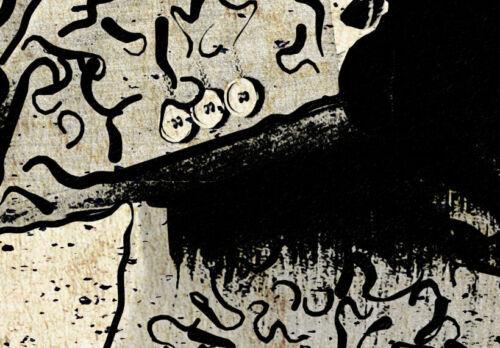 ABSTRAKT TIERE AFFE FUCHS ADLER Wandbilder xxl Bilder Vlies Leinwand 020116-35