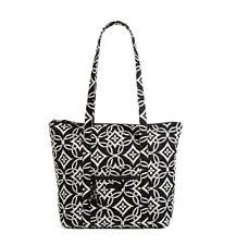 VERA BRADLEY Villager CONCERTO Tote Shoulder Bag Purse $68 NEW Black and White