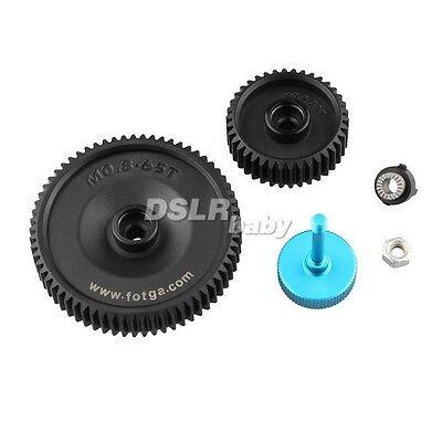 2pcs Fotga 38x  65x 0.8mm pitch lens gear for DP500IIS DP500II follow focus