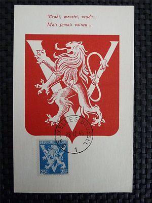 Briefmarken Europa Belgien Mk 1945 WappenlÖwe LÖwe Lion Maximumkarte Carte Maximum Card Mc Cm A8828 Nachfrage üBer Dem Angebot