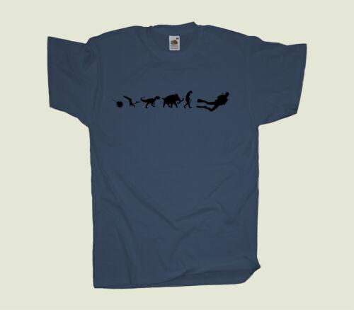 500 Mio YearsDivingTaucher  T-Shirt TauchenKult