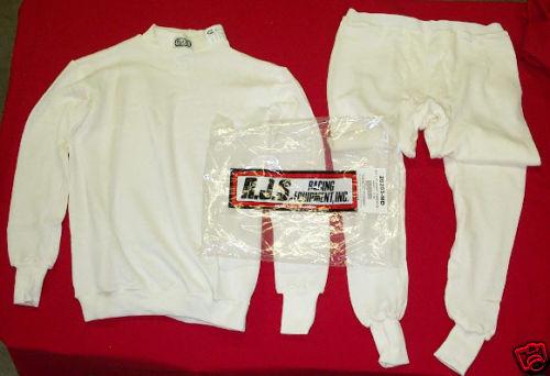 New RJS Nomex Underwear Set SFI 3.3 Top /& Bottom 20203 Size X Large