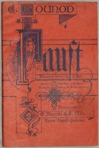 CHARLES-GOUNOD-FAUST-LIBRETTO-D-039-OPERA-BARBIER-CARRE-DICEMBRE-1906-RICORDI