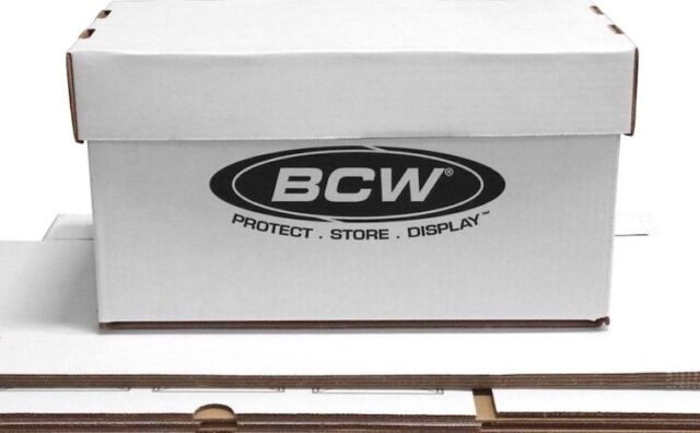10 Bcw 45 Rpm Record 7 Disc White Storage Boxes With Lids 150